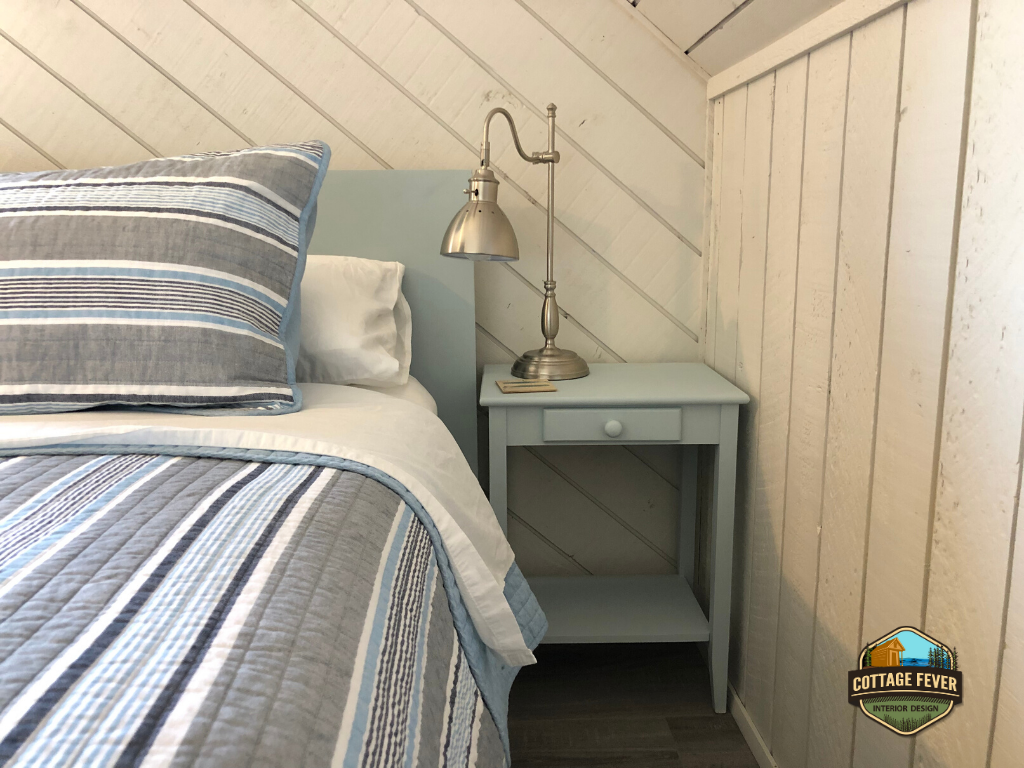 Beach style painted furniture
