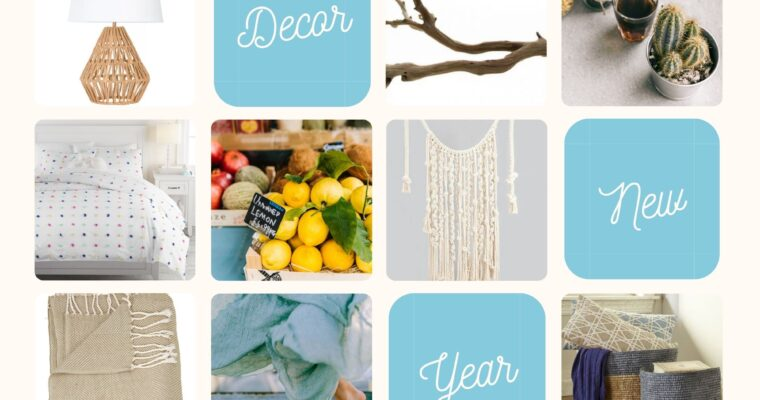 Decor Resolutions – A new look for a new year