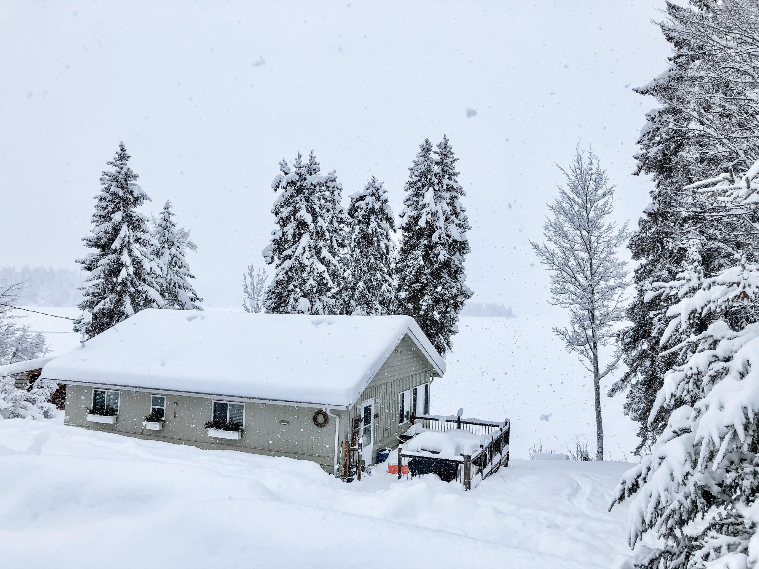 Winter cottage activities