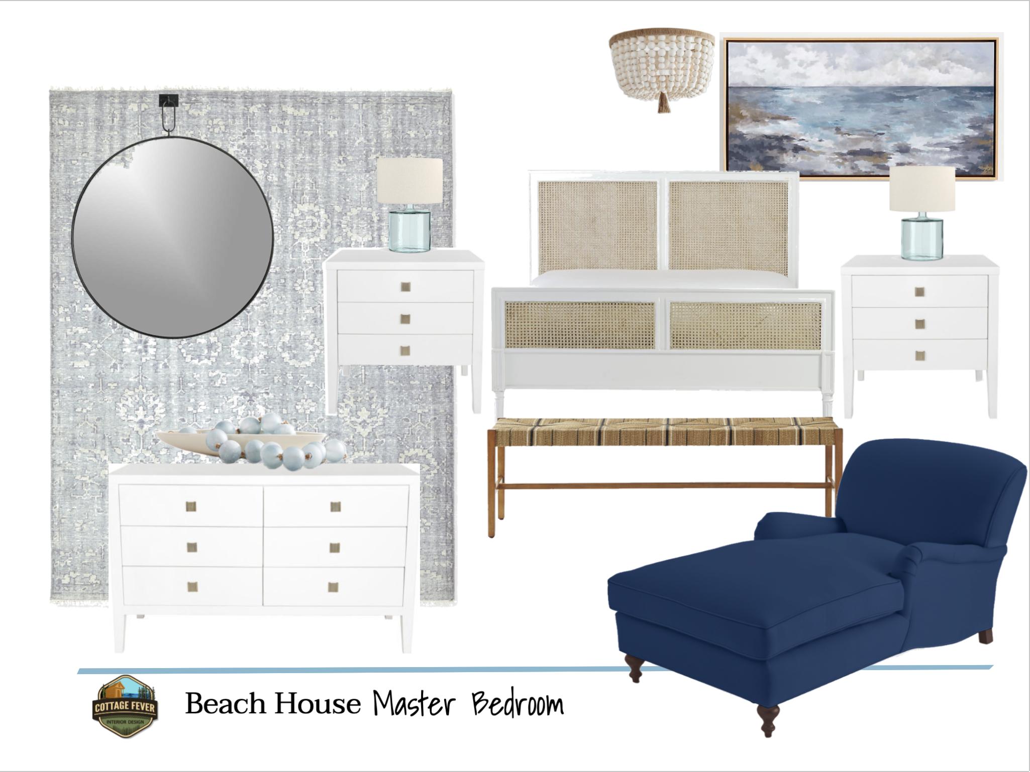 Designing a Coastal Master Bedroom