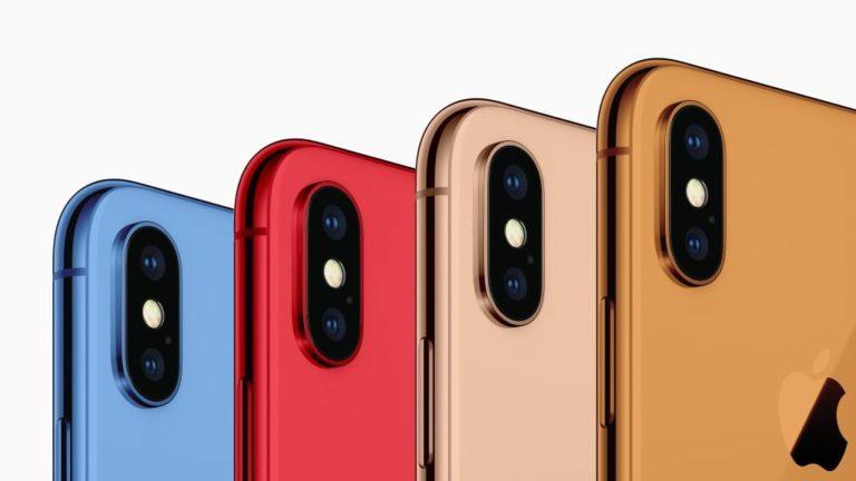 Nuevo iPhone… Nuevos colores