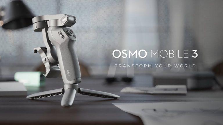 DJI anuncia su nuevo gimbal para smartphones, OSMO Mobile 3