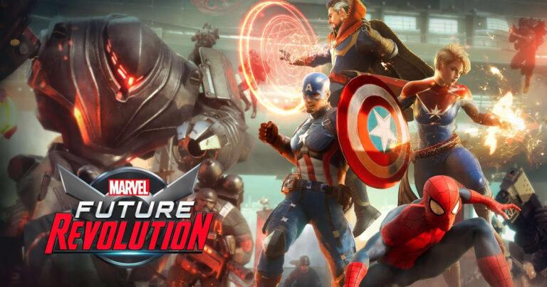 Netmarble y Marvel Entertainment anuncian MARVEL Future Revolution para móviles