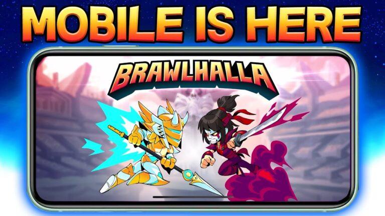 Brawlhalla llegará a dispositivos móviles este próximo 6 de agosto