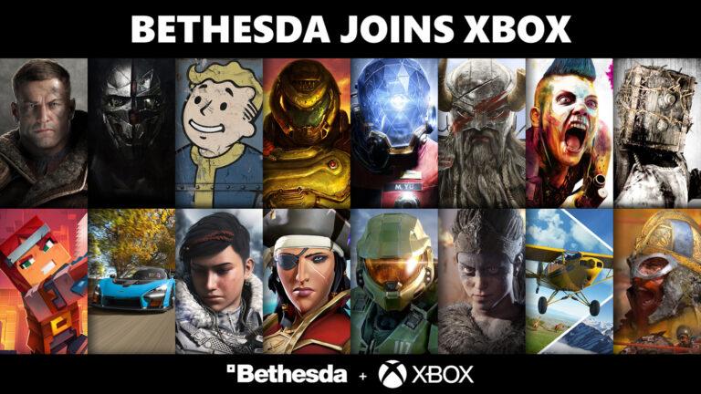 Xbox anuncia oficialmente la adquisición de Bethesda Softworks