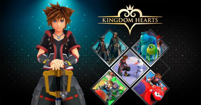 Ya esta disponible la saga de Kingdom Hearts en PC