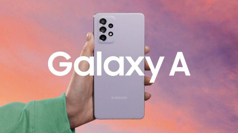 Samsung Electronics reveló los nuevos Galaxy A52, A52 5G y A72
