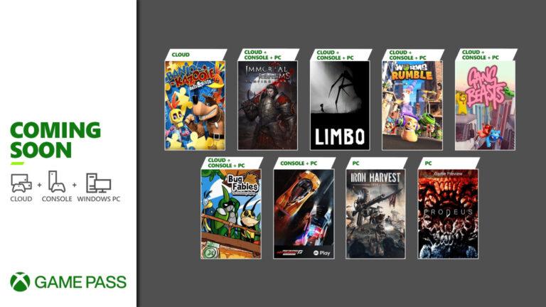Xbox anuncia los próximos títulos en llegar a Xbox Game Pass