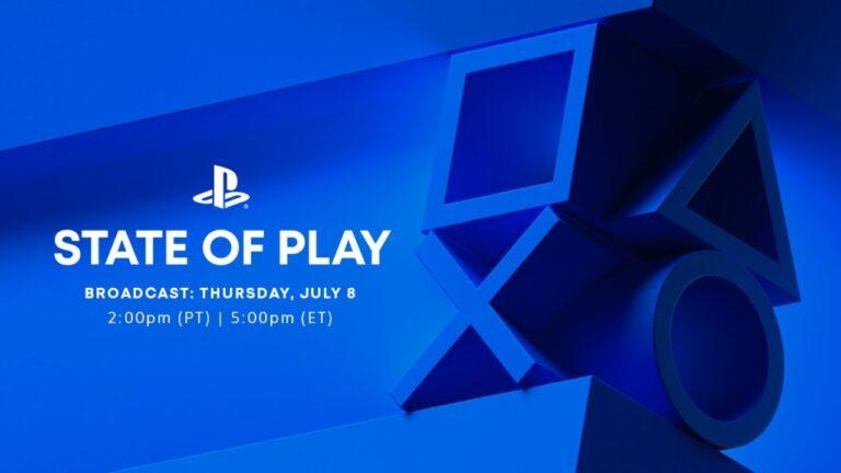 PlayStation anuncia un nuevo State of Play para este jueves 8 de julio