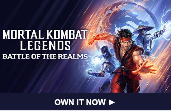 Ya puedes obtener Mortal Kombat Legends: Battle of the Realms de forma digital o física