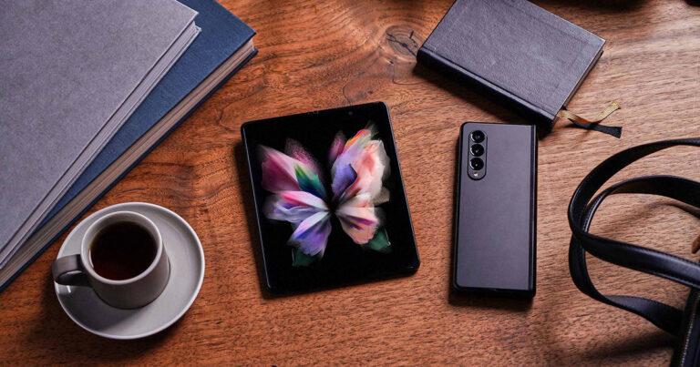 Galaxy Z Fold3 y el Galaxy Z Flip3 de Samsung con looks personalizados