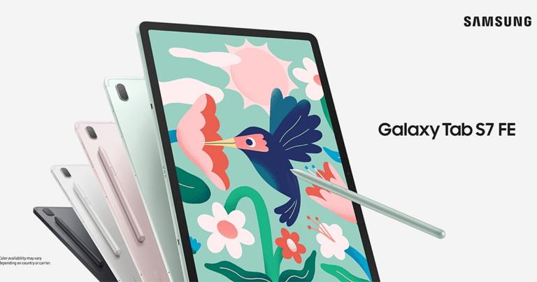 Conoce el Samsung Galaxy Tab S7 FE la aliada perfecta para artistas y diseñadores