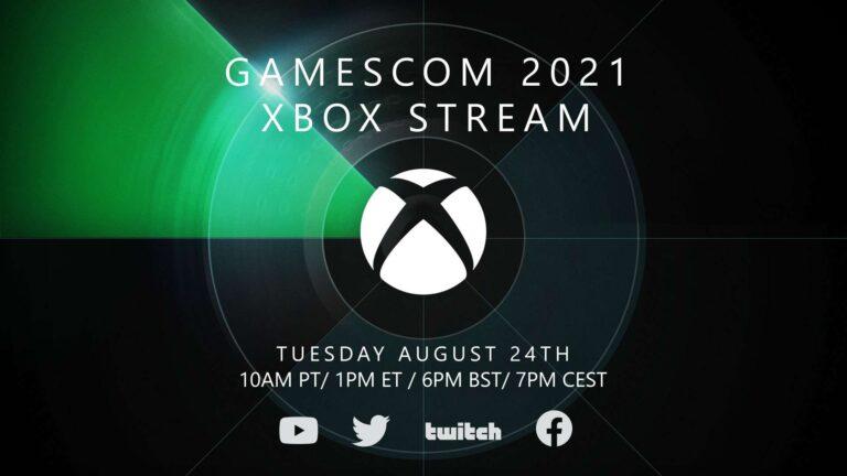 Xbox estará presente en el evento Gamescom 2021