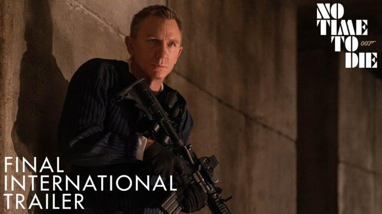 Ya está disponible el trailer final de 007: NO TIME TO DIE
