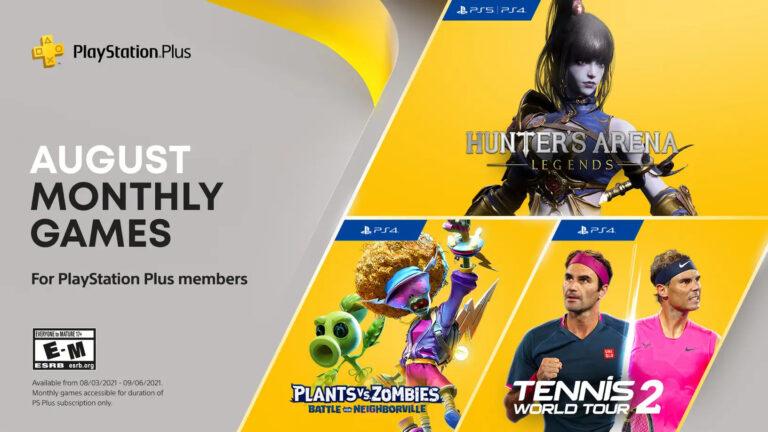 Estos son los juegos gratuitos de PlayStation Plus de Agosto 2021