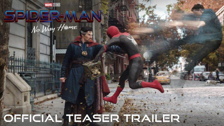 Finalmente nos llega el trailer oficial de Spider-Man: No Way Home