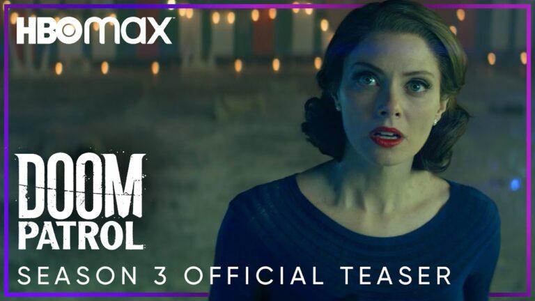 Llega el trailer oficial de la 3ra temporada de Doom Patrol para HBO Max