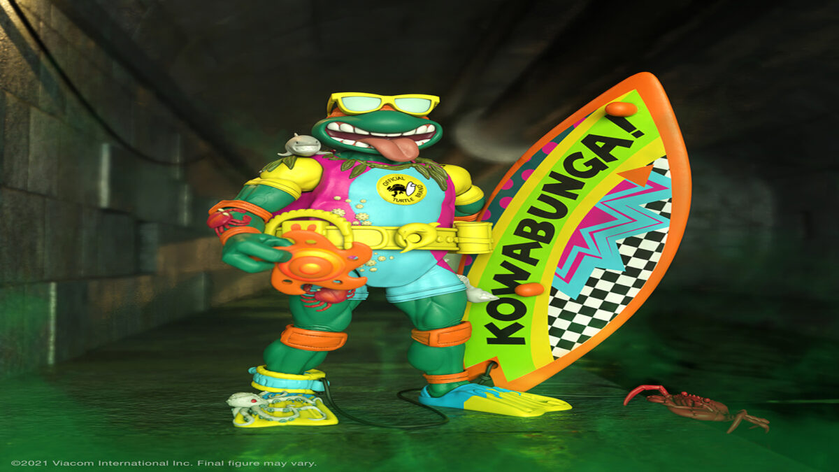 Mike the Sewer Surfer   Super 7