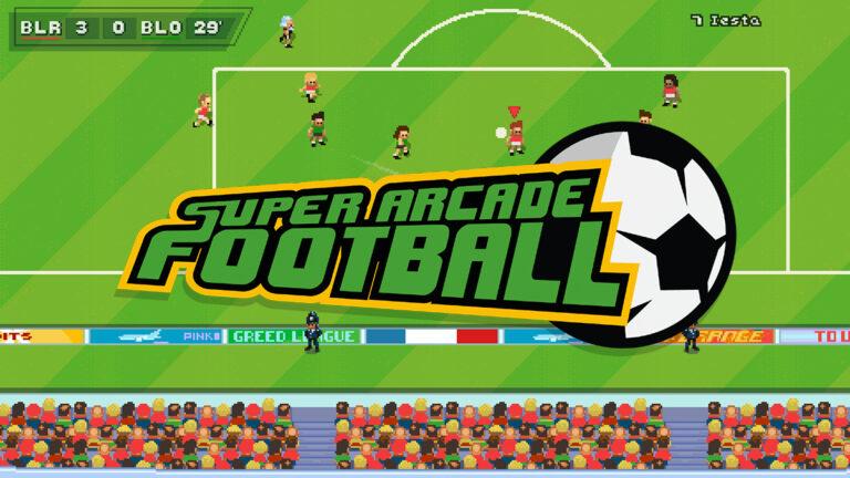 Super Arcade Football llega a Steam