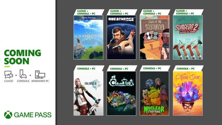 Próximamente en Xbox Game Pass: Final Fantasy XIII, The Artful Escape y más