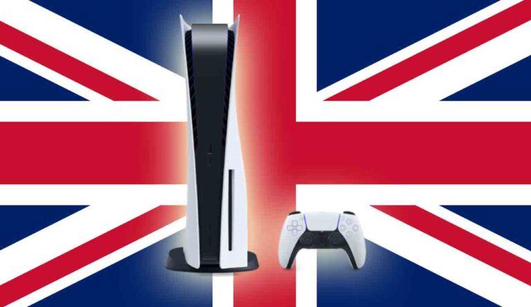 PlayStation 5 alcanza 1 millón de unidades vendidas en el Reino Unido