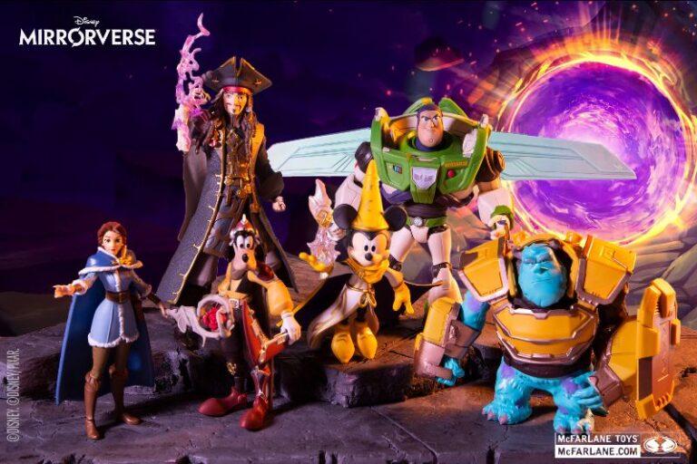 Disney Mirrorverse por Mcfarlane Toys