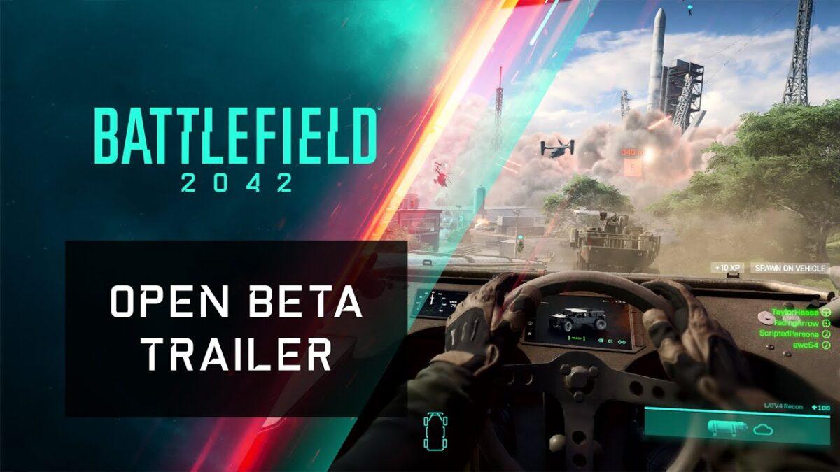 Electronic Arts ha revelado las fechas del beta abierto de Battlefield 2042