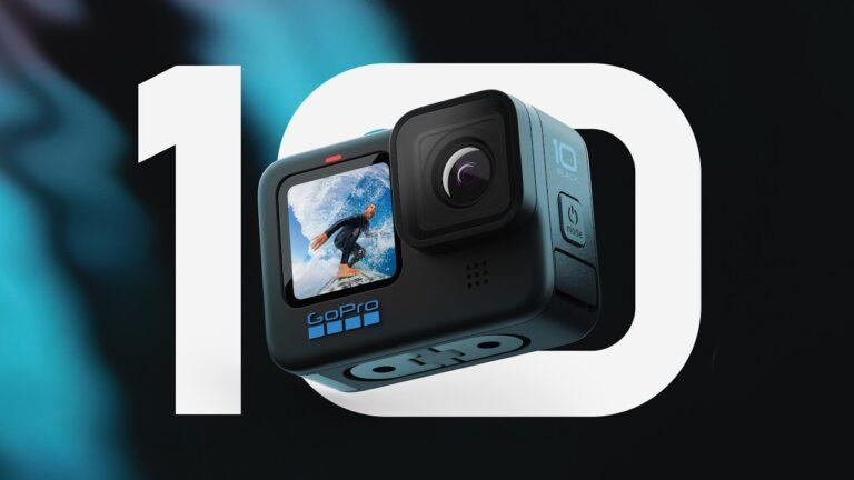 GoPro anuncia su nueva HERO10 Black con nuevo procesador y resolución de video hasta 5.3K60