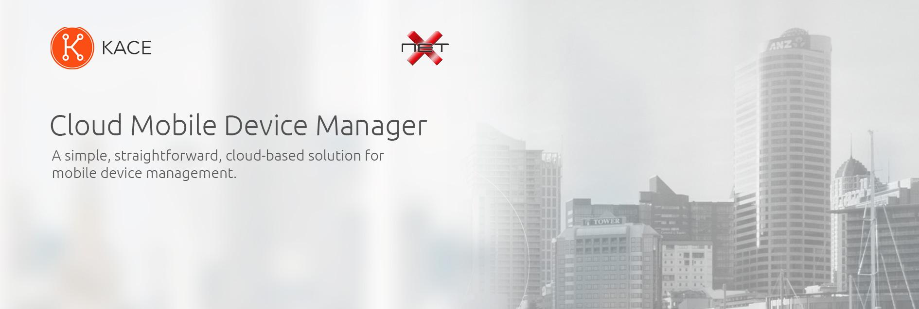 netx kace mobile device manager