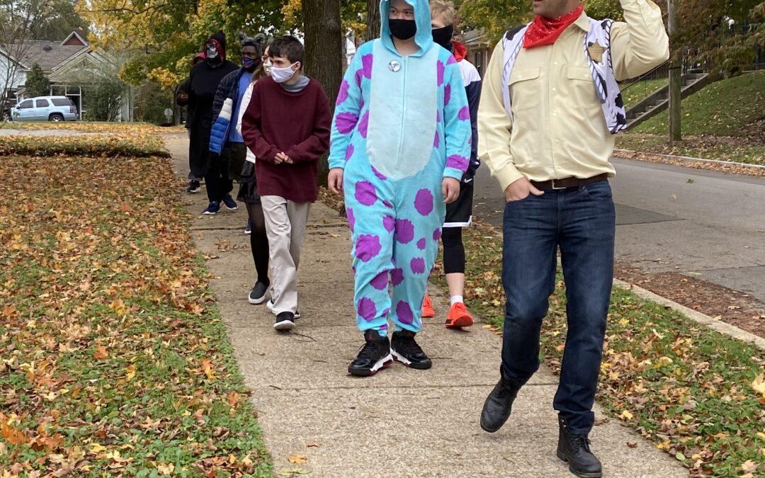 Halloween on Main Campus