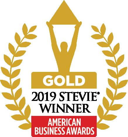 Gold 2019 Stevie Winner - American Business Awards