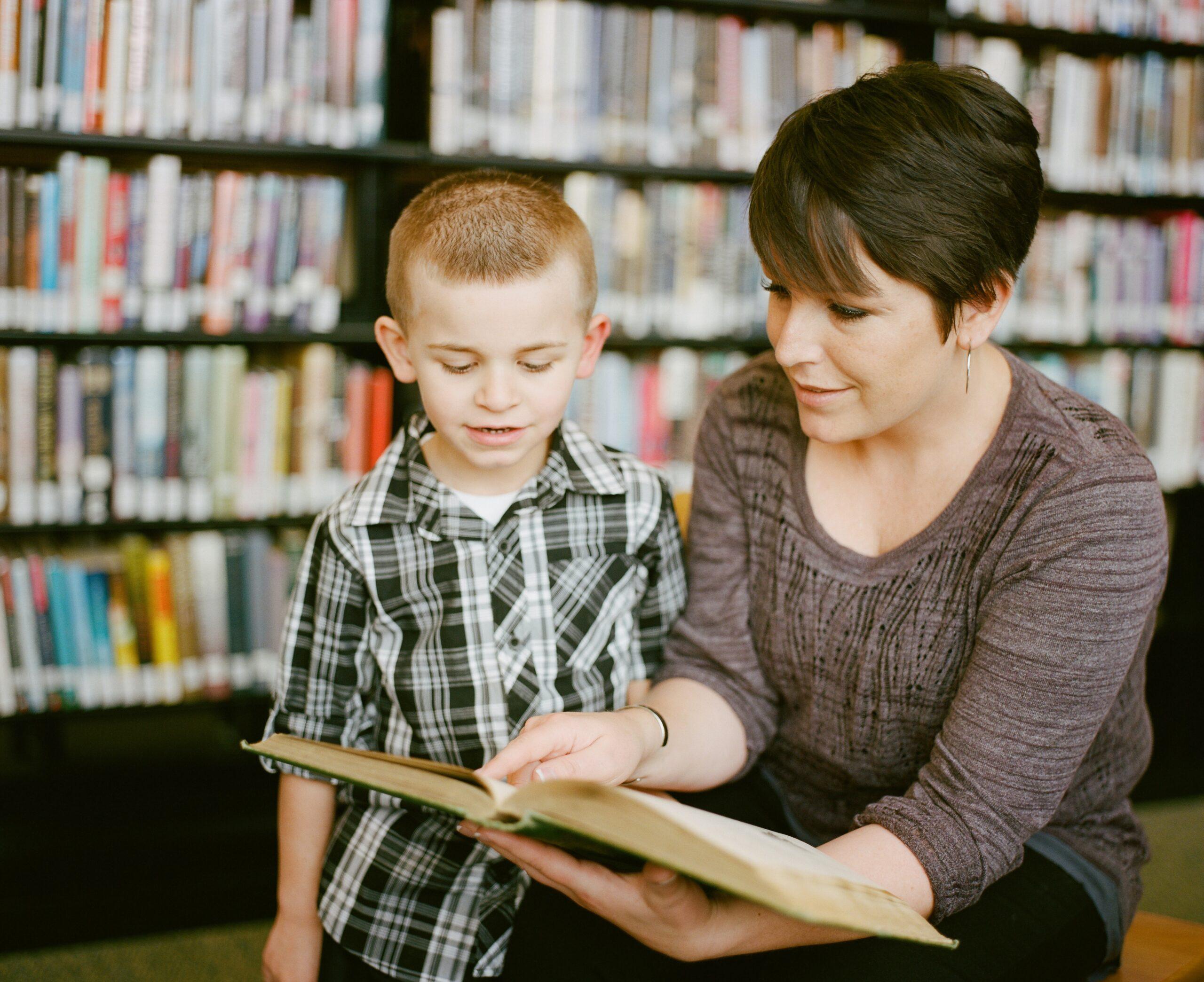 teacher pension plan - teacher reading to a child