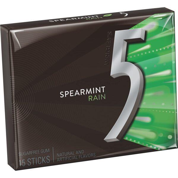 5 Gum Spearmint Chewing Gum