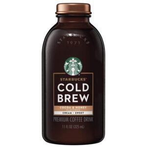 Starbucks Cold Brew Cocoa & Honey