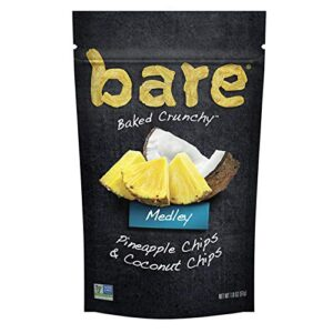 Bare Pineapple and Coconut Chips 1.8 oz.