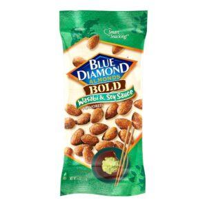 Blue Diamond Almonds Wasabi n Soy Sauce 4oz