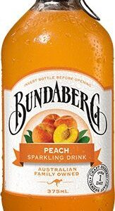 bundaberg peach sparkling drink