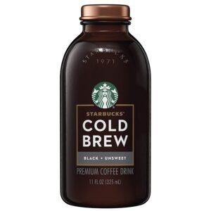 Starbucks Cold Brew Unsweetened Black Coffee
