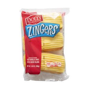Dolly Madison Zingers Vanilla 3.81oz