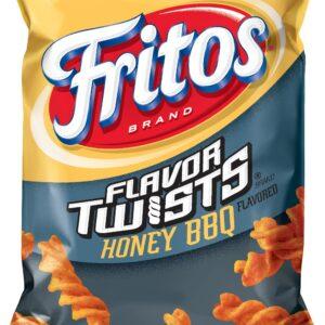 Frito Lays Flavor Twists Honey BBQ