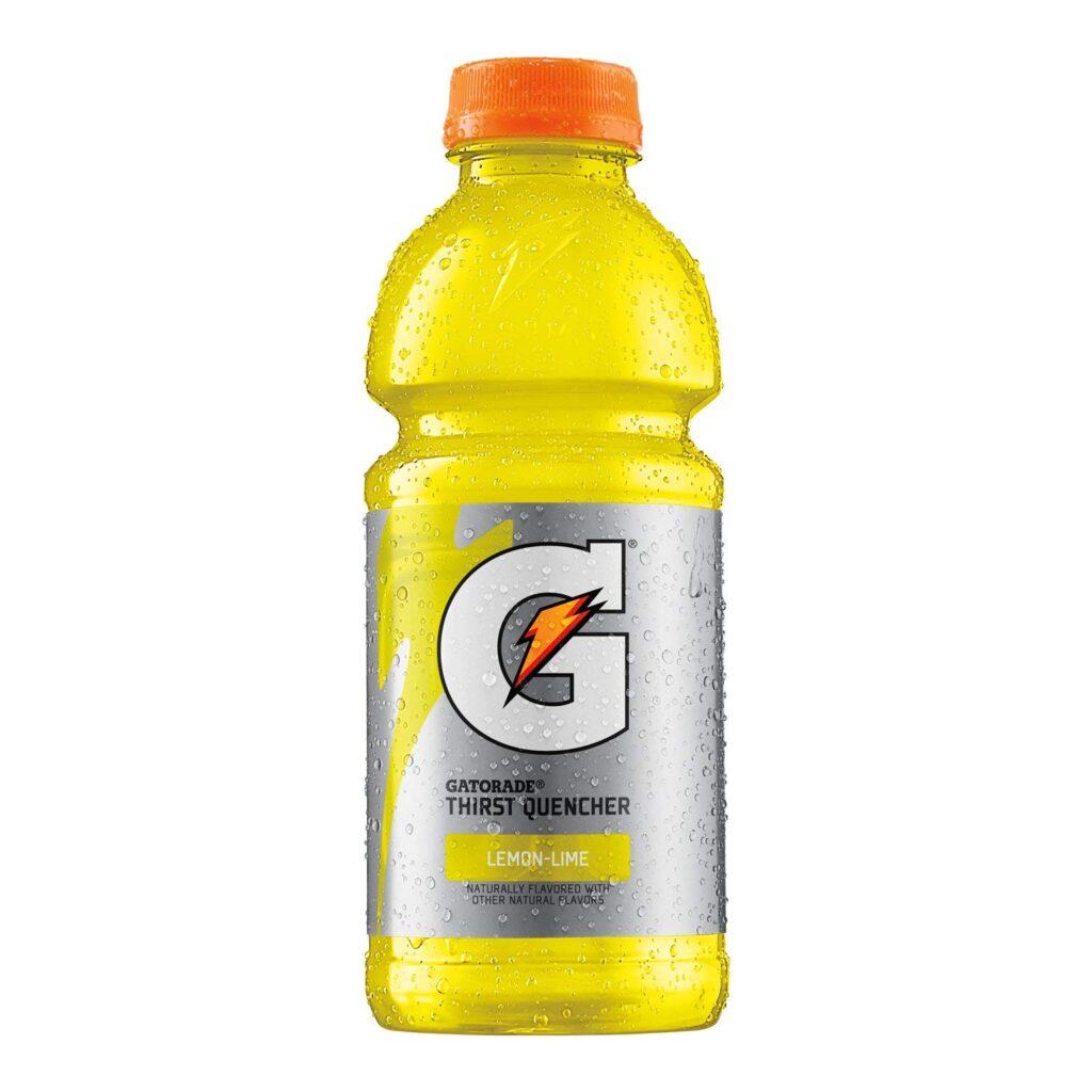 gatorade lemon lime flavored sports drink