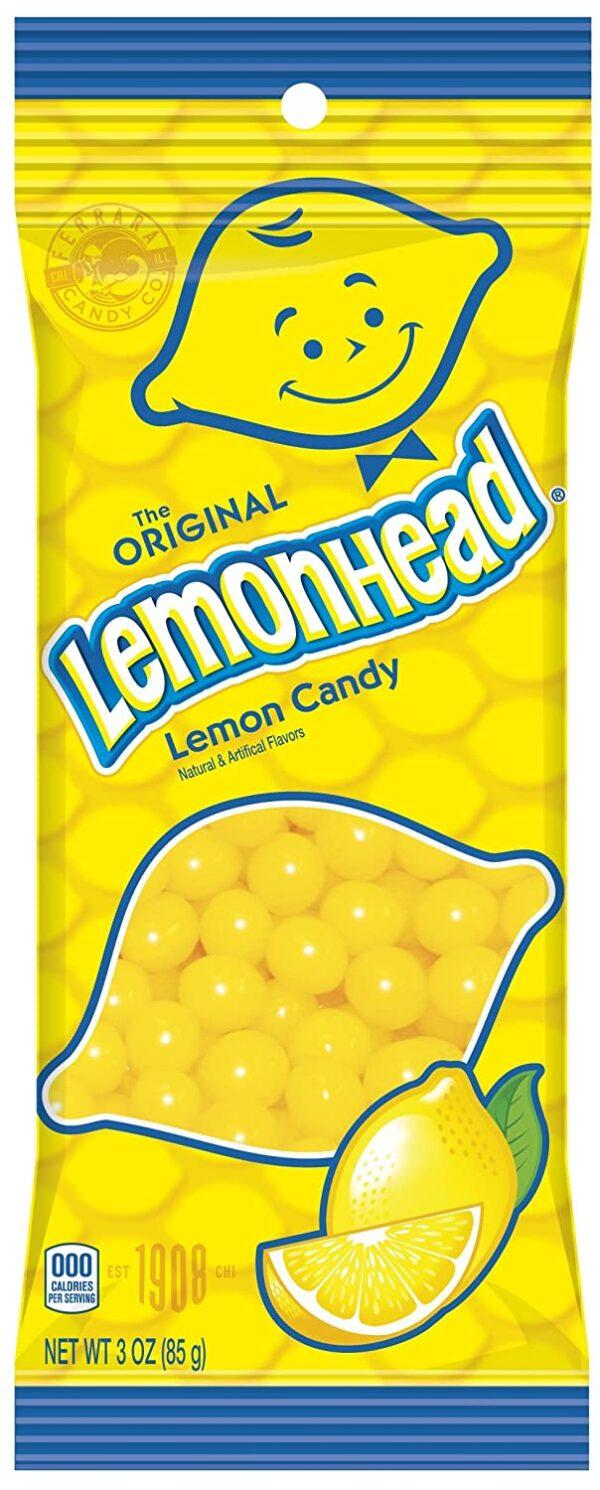 Lemonhead original lemon candy