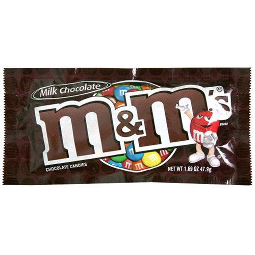 m&ms plain chocolate candies