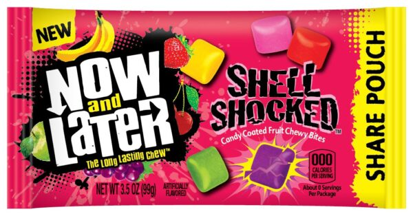 now and later shell shocked candies