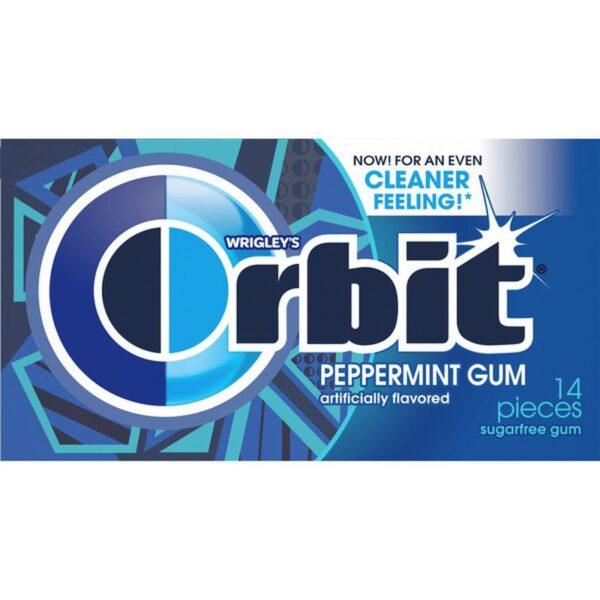 Orbit SF Peppermint 14 Count