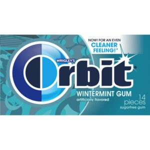 Orbit SF Wintermint Chewing Gum