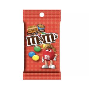 peanut butter m&m peg bag