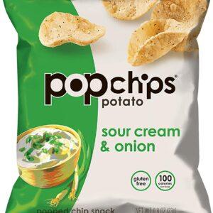 Popchips Sour Cream and Onion Potato Snack
