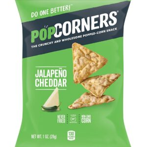 Popcorners Cheesy Jalapeno Corn Snack