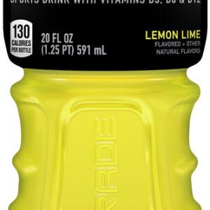 Powerade Lemon Lime Flavored Sports Drink